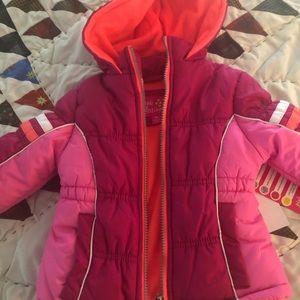 Pink Platinum- Baby Girl- 18M Heavy Jacket